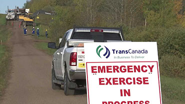Watch TC Energy's emergency response exercise video.