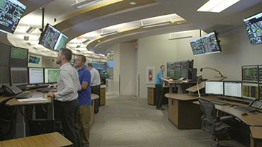Watch video of TC Energy's oil control center.