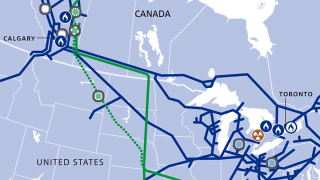 TC Energy Operations Maps