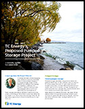 TC Energy - Proposed Pump Storage Project - Community Newsletter - November 2020 - Thumbnail