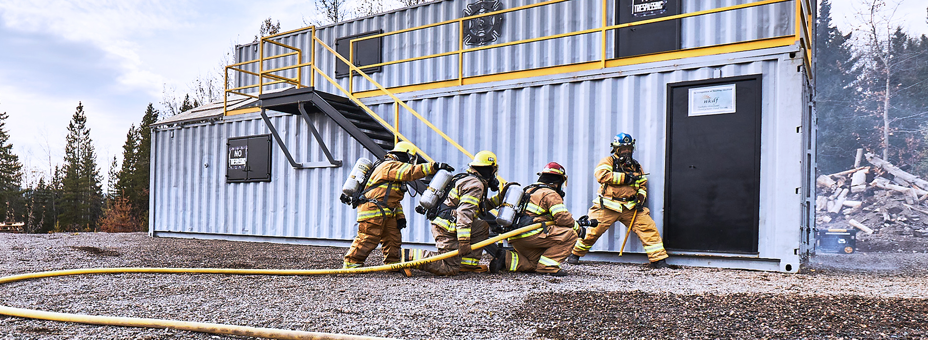 Training facility fires up for first responders - Burns Lake